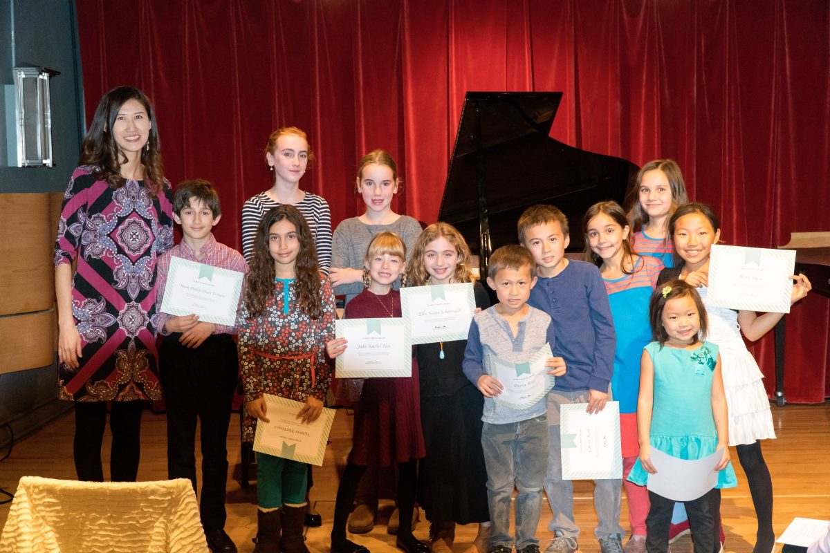 Piano Recital Autumn 2017