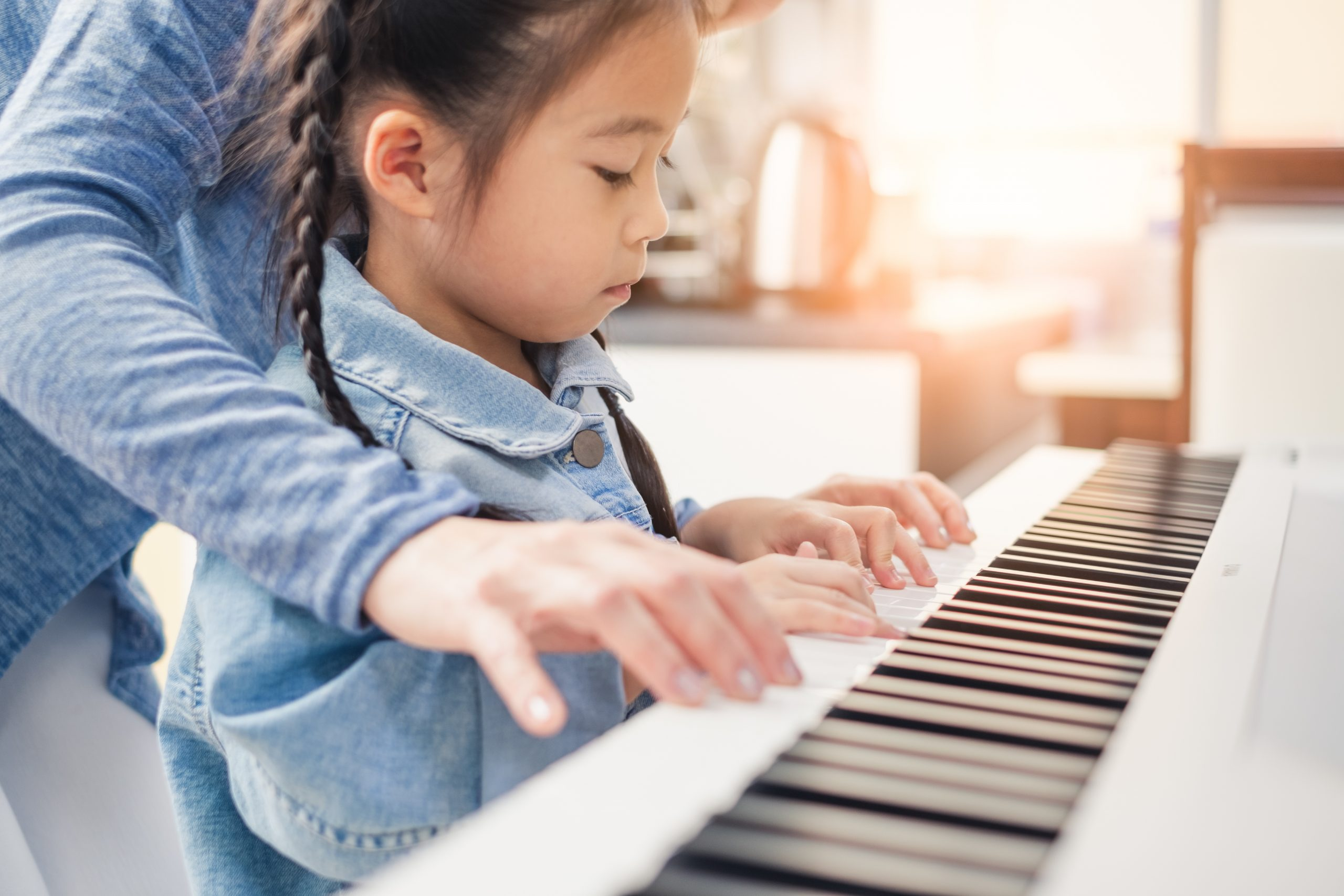 Your first piano lessons